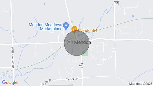 Cozy Mendon Retreat! Map