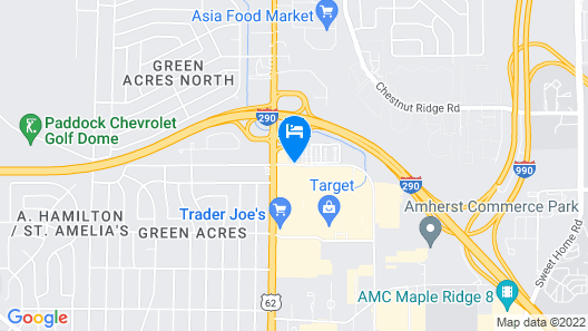 Home2 Suites by Hilton Amherst Buffalo Map