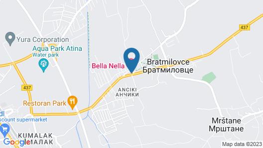 Hotel Bella Nella Map