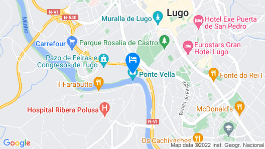 Roots&Boots Lugo Map