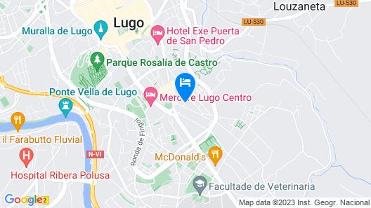 Hostal Bríos Map