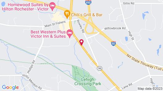 Best Western Plus Victor Inn & Suites Map
