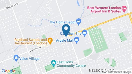 Motor court Motel Map