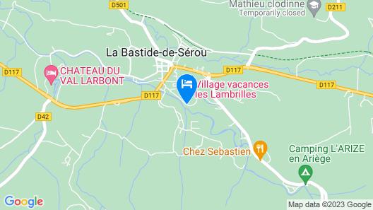 Village vacances Les Lambrilles-Chambres Map