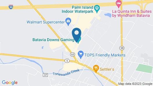 Hotel At Batavia Downs Map