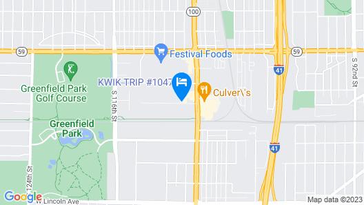 Days Inn by Wyndham West Allis/Milwaukee Map