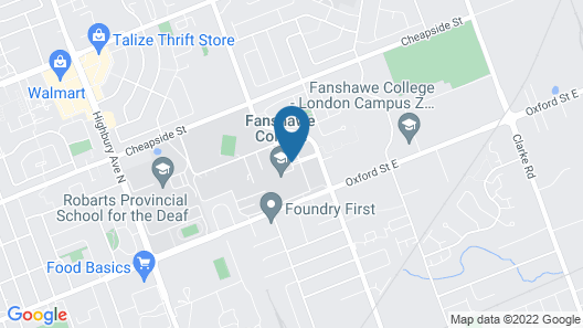Fanshawe College Conference Services Map