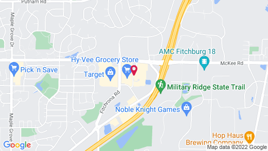 Staybridge Suites Madison - Fitchburg, an IHG Hotel Map