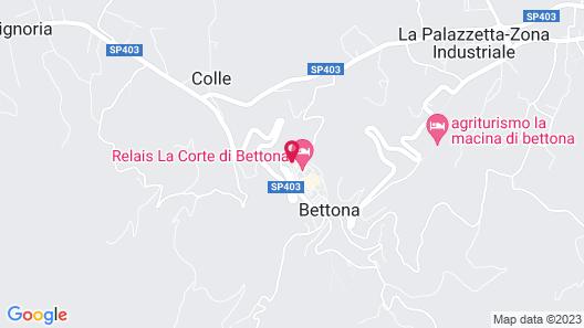 Relais La Corte Di Bettona Map