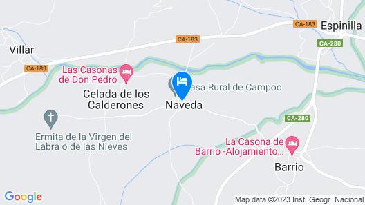 Casa De Campoo Map