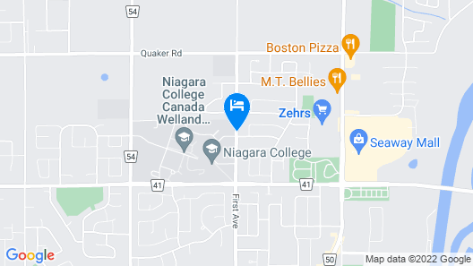 Residence & Conference Centre - Welland Map