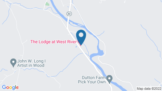 The Lodge at West River Map