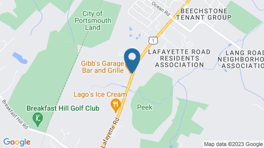Wrens Nest Village Inn Map