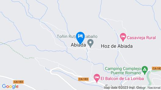 Complejo Abiada Rural Map