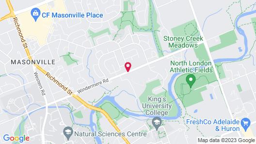 Ivey Spencer Leadership Centre Map