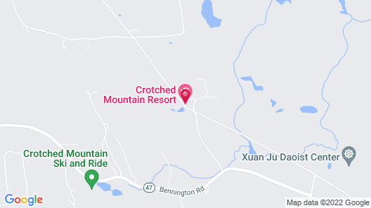 Crotched Mountain Resort Map