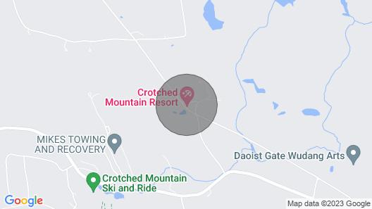 Wyndham Crotched Mountain Resort - Huge 2 Bedroom Map