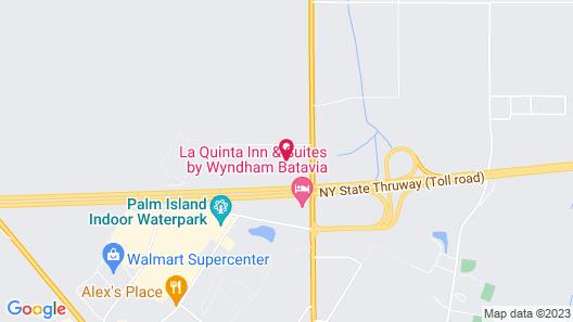 Hampton Inn Batavia Map