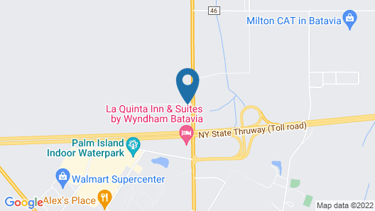 FairBridge Inn & Suites Batavia-Darien Amusement Park Area Map