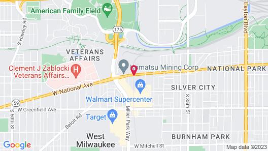 Fairfield Inn & Suites by Marriott Milwaukee West Map