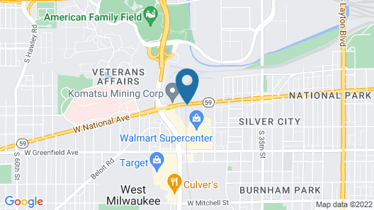 Fairfield Inn & Suites by Marriott Milwaukee West Map