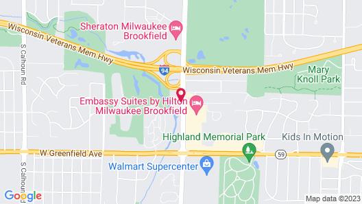 Best Western Premier Milwaukee-Brookfield Hotel & Suites Map