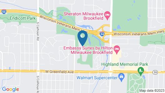 Residence Inn By Marriott Milwaukee Brookfield Map