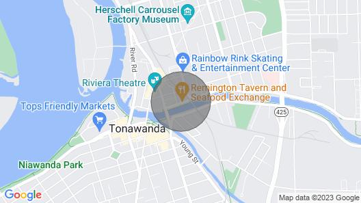 Buffalo/niagara Falls Modern Luxury Loft -gym Access Map