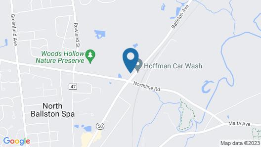 Robin Hood Motel Map
