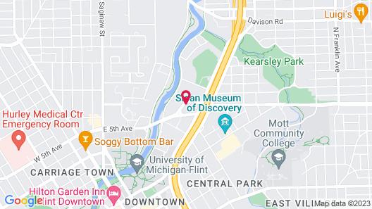 Holiday Inn Express Flint-Campus Area, an IHG Hotel Map