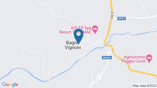 Albergo Posta Marcucci Map
