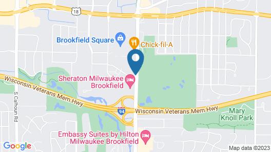 Hilton Garden Inn Milwaukee Brookfield Conference Center Map