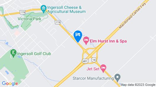 Elm Hurst Inn & Spa Map