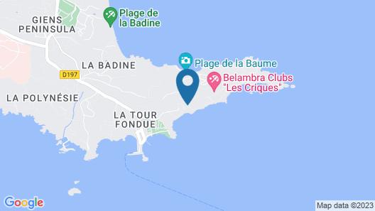 Belambra Clubs Presqu'île de Giens - Les Criques Map
