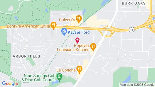 Baymont Inn & Suites by Wyndham Madison Map