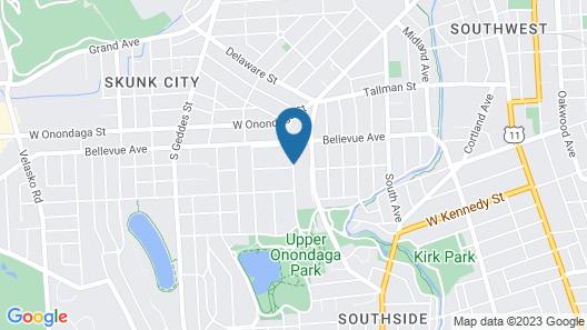 WC Lipe Mansion Map