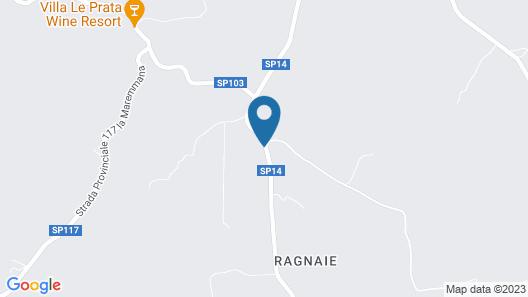 Agriturismo Le Ragnaie Map