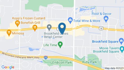 Holiday Inn Express & Suites Milwaukee - Brookfield, an IHG Hotel Map