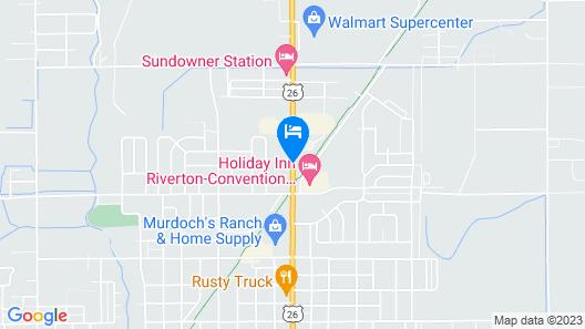 Super 8 by Wyndham Riverton Map