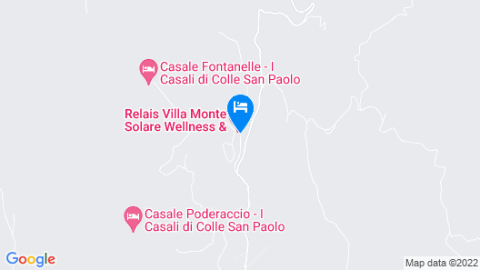 Relais Villa Monte Solare Wellness & SPA Map