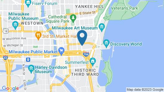The Westin Milwaukee Map