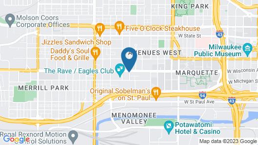 Ambassador Inn Map
