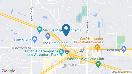 Tru By Hilton Milwaukee Brookfield Map