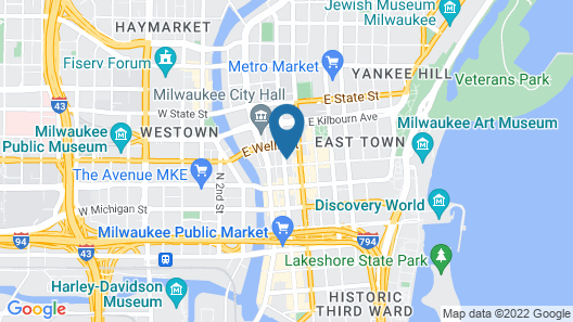 Milwaukee Athletic Club Map