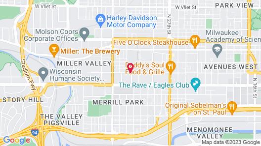 Schuster Mansion Bed & Breakfast Map