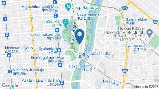 HOTEL MYSTAYS Sapporo Nakajima Park Map