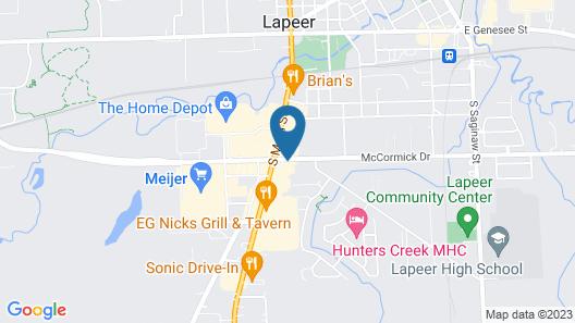 Holiday Inn Express Lapeer, an IHG Hotel Map