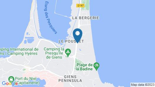 Belambra Clubs Presqu'île de Giens - Riviera Beach Club Map