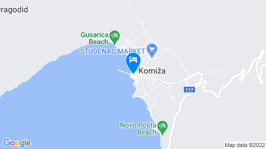 Mira Sea Front Guesthouse  Map