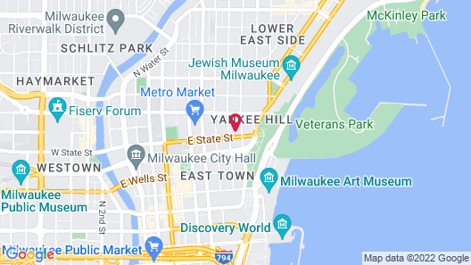 Park East Hotel Map
